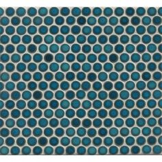 Bedrosians Penny Rounds Mosaic Gloss Dove Multicolor Porcelain Tiles (Pack of 10 Sheets) - 18867900 - Overstock.com Shopping - Big Discounts on Bedrosians Wall Tiles