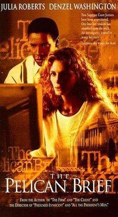The Pelican Brief starring Julia Roberts, Denzel Washington & Sam Shepard