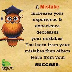 a mistake – wisdom quotes