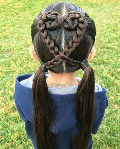 Majority of these hairdos are fairly simple as well as are good for novices, quick and simple toddler hair styles. Cute Girls Hairstyles, Braided Hairstyles, Hairdos, Wedge Hairstyles, Sweethearts Hair Design, Girl Hair Dos, Crazy Hair Days, Toddler Hair, Hair Designs