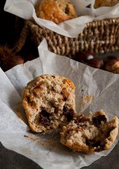 Sabores y Momentos | Muffins de Crema de Castañas y Chocolate {para un Guest Post} | http://saboresymomentos.es