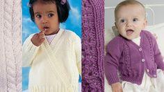 2 FREE Peter Pan baby cardigan patterns • LoveKnitting Blog