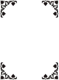 Free Printable Clip Art Borders | Full Page Squiggly Zig Zag ...