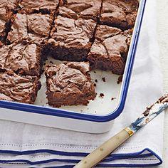 Salted Caramel Brownies | MyRecipes.com #glutenfree