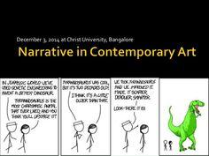 Narrative & contemporary art by Avy Varghese via slideshare