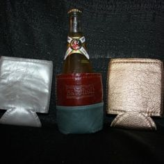Genuine Leather Coozies in Various Colors