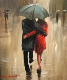 Lovers in the Rain
