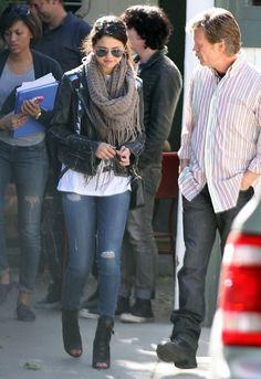 Selena Gomez Leather Jacket - Selena Gomez Looks - StyleBistro