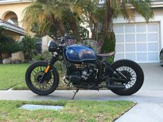 1984 BMW R80/7 RT Cafe Racer Bobber. Tags until Jan. 2021. I bought this bike few weeks ago to drive around the neighborhood while waiting for the custom build I ordered. The previous owner (Son of a local Pastor) told me this bike has less than 15,000 miles when he got it. He said he […] #caferacerforsale #caferacer