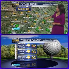 Gonna be hot and humid, but our severe weather threat is over. Have a great weekend! #austin #keyewx #fathersday