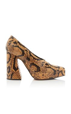 069a15f058d Stacked Embossed Pump by PROENZA SCHOULER Now Available on Moda Operandi  Fall Shoes
