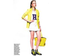 D LA REPUBBLICA Italia features R182, the most glamorous and lively #HOGANREBEL Hi-top sneakers.