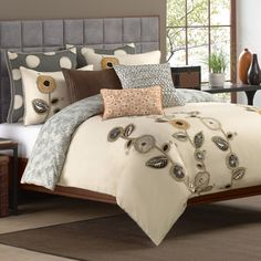 Royal Heritage Home™ Zopa Duvet Cover, 100% Cotton - Bed Bath & Beyond