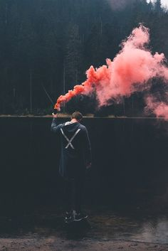 Smoke Bomb Photography, Artistic Photography, Creative Photography, Amazing Photography, Photography Poses, Fotos Tumblr Boy, Rauch Fotografie, Smoke Pictures, Colored Smoke