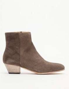 Woman by Common Projects / Zip Ankle Boot in Suede