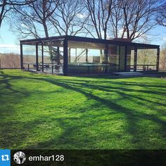 """Architecture is art, nothing else."" - Philip Johnson #glasshouse #Repost of @emhar128 via @repostapp"
