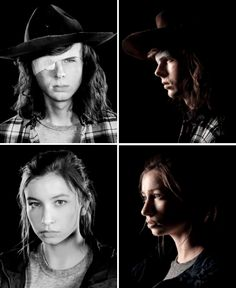 The Walking Dead Season 8 Character Portraits Carl The Walking Dead, Walking Dead Season 8, Walking Dead Memes, Best Tv Shows, Best Shows Ever, Carl E Enid, Glen And Maggie, Katelyn Nacon, Dead Pictures