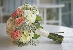 Second Option for bouquet. Flowers and Decor - Lake Geneva Wedding In September in Lake Geneva, WI, USA