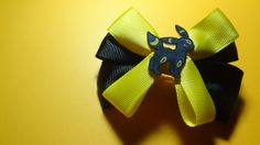 Umbreon Hair Bow by spinaltapcola on Etsy, $8.00