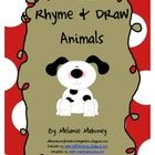 Rhyme & Draw is a poem shared with the class and each rhyming phrase suggests what the children draw.  What a fun, creative way to develop phonemic awareness, rhyming words, vocabulary, mental images, and shared reading.  Any age would enjoy Rhyme & Draw!  Check out what my kinder kids did!