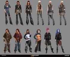 Research Erroristes Female by jamga.deviantart.com on @deviantART