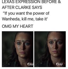 Clarke actually thinks she would kill her