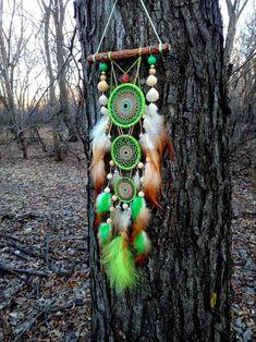 Big Dream Catchers, Dream Catcher Nursery, Driftwood Mobile, Dream Catcher Native American, Dream Catcher Necklace, Bubble Art, Ostrich Feathers, Dreamcatchers, Handmade Items