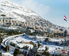 Damascus in winter