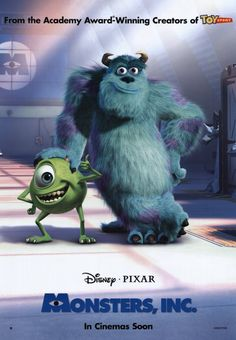 Monsters inc poster - Buscar con Google