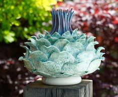 Cardoonstoneware30cm high aproxClick here for more details