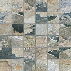 Enigma 12 Inch x 12 Inch Bengal Autumn Porcelain Tile | The Home ...