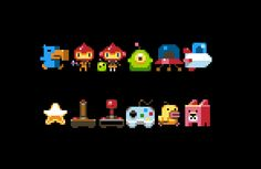 Some wee #pixelart sprites for @photonstorm 's phenomenal #phaserjs using the…