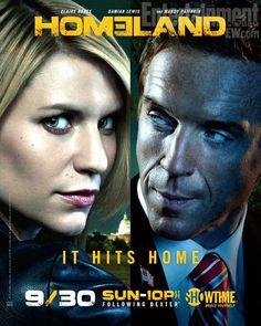 'Homeland' season 2 official poster revealed -- PHOTO