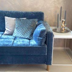 www.kaisakallatsa.fi Love Seat, Upholstery, Corner, Couch, Living Room, Interior Design, Projects, Furniture, Home Decor