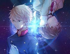Aldnoah Zero -  Kaizuka Inaho and Slaine Troyard