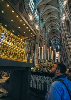 The Cologne Cathedral has a long pilgrimage tradition in Christianity, dating back to the Middle Ages. Gothic Buildings, Second World, Most Visited, Pilgrimage, Middle Ages, Where To Go, Cologne, Travel Photos, Christianity
