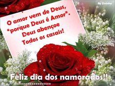 Deus abençoe todos os casais, com um lindo amor