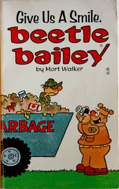 Vintage comic strip book: Give Us A Smile Beetle Bailey by Mort Walker