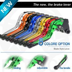 42.68$  Watch now - http://alixy1.worldwells.pw/go.php?t=32704866470 - For DUCATI Scrambler 2015 for Triumph SCRAMBLER Motorcycle Accessories Short Brake Clutch Levers