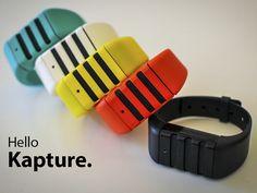 Kapture: the audio-recording wristband.