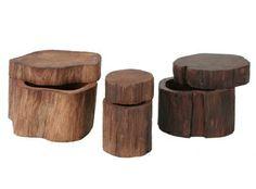 Jayson Home & Garden :: accessories :: tabletop :: LOG BOXES Garden Accessories, Home And Garden, Wood, Tabletop, Diy Ideas, Boxes, Furniture, Home Decor, Art