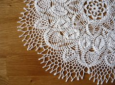 Crochet doily on Easter basket Easter gift Easter by MariAnnieArt