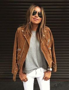 Leather jackets are my must-have item