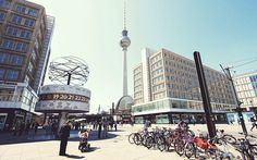 La splendida città di #Berlino, #Germania. #alexanderPlatz #viaggiare