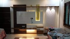 Lcd wall units family rooms that exploit the cornor space open up whatever is lot of the space for more versatile settlement, Lcd Panel Design, Home, Bedroom False Ceiling Design, Bedroom Design, Lcd Unit Design, Tv Design, Lcd Wall Design, Living Room Tv Unit Designs, Interior Design Bedroom