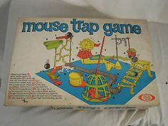 1960S Board Games | Vintage-1960s-Mouse-Trap-Ideal-Board-game... IN SEARCH OF THIS VINTAGE GAME, BUT GARAGE SALES ARE HERE SO MaYbE I WILL FIND ONE, SMILES... YOU HAVE 1 YA MAY WANNA SALE FOR A GOOD PRICE? JUST LET ME KNOW PLEASE?