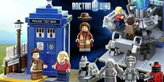 Doctor Who Lego set Lego Tardis control room