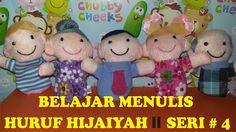 BELAJAR MENULIS HURUF HIJAIYAH # SERI 4 ll Finger Family Education