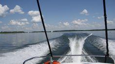 z pełną mocą:) aktywnie na mazurskich jeziorach!