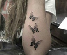 Butterfly Tattoos for Women Ideas and Designs for Girls: 101 Cute Butterfly Tattoo Designs To Get That Charm. 101 Cute Butterfly Tattoo Designs To Get That Charm. Butterfly Sleeve Tattoo, Butterfly Tattoo Meaning, Butterfly Tattoos For Women, Butterfly Tattoo Designs, Small Tattoo Designs, Tattoo Designs For Women, Black Butterfly Tattoo, Butterfly Design, Mandala Tattoo